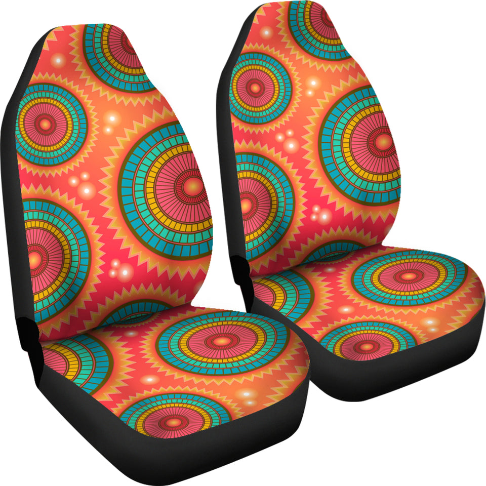 Happy Mandalas Car Seat Covers
