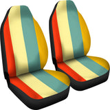 Striped Car Seat Covers