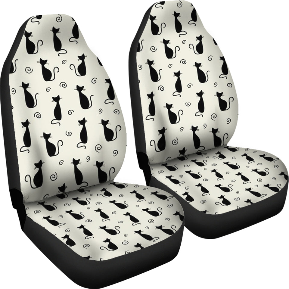 Cat Pattern Car Seat Covers