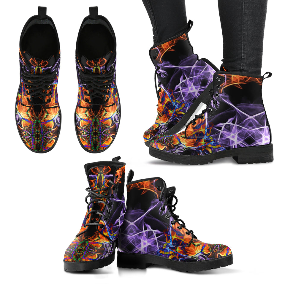 Cosmic Revelation 2 Leather Boots