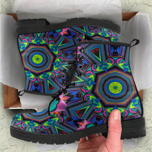 Kaleidoscopic Vision Boots