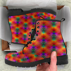Kaleidoscopic Mirror Boots