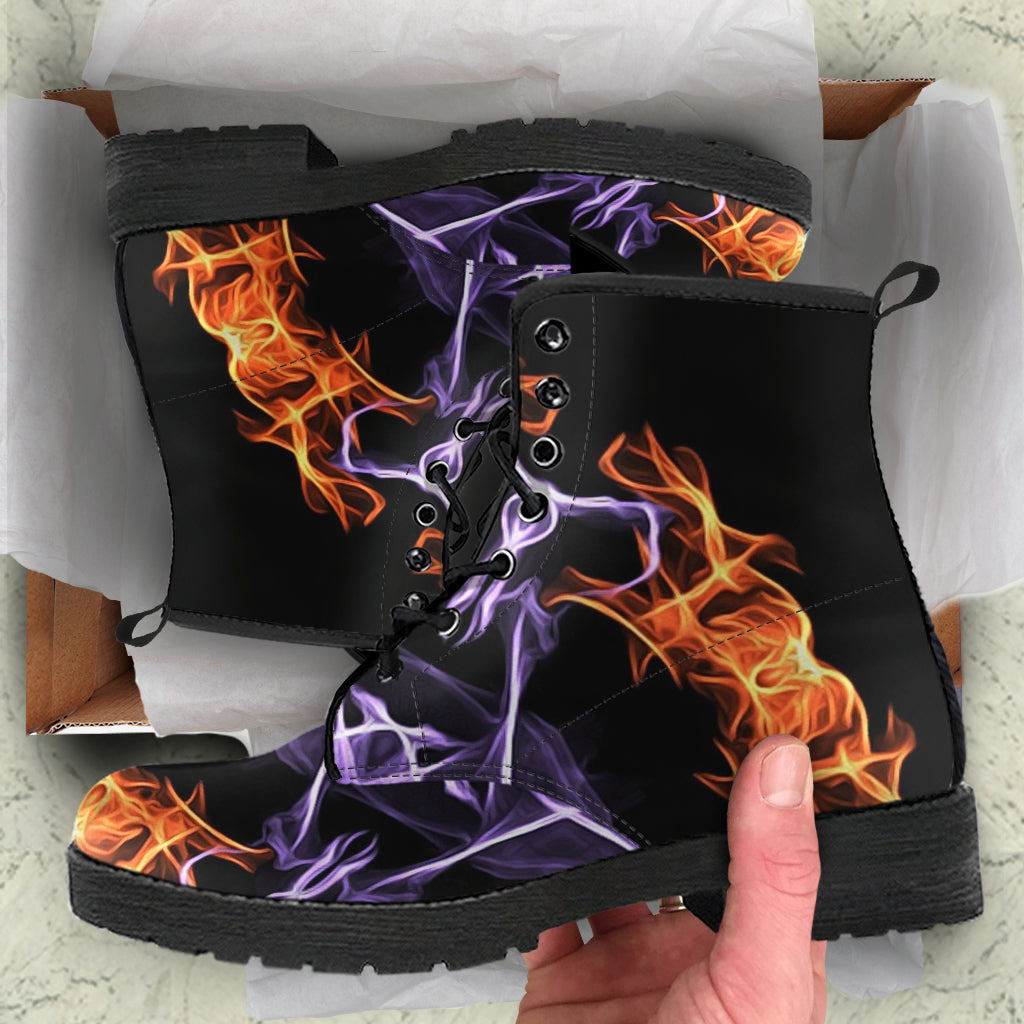 Fire Leather Boots