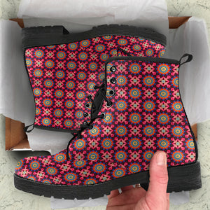 Little Mandala Pattern Boots