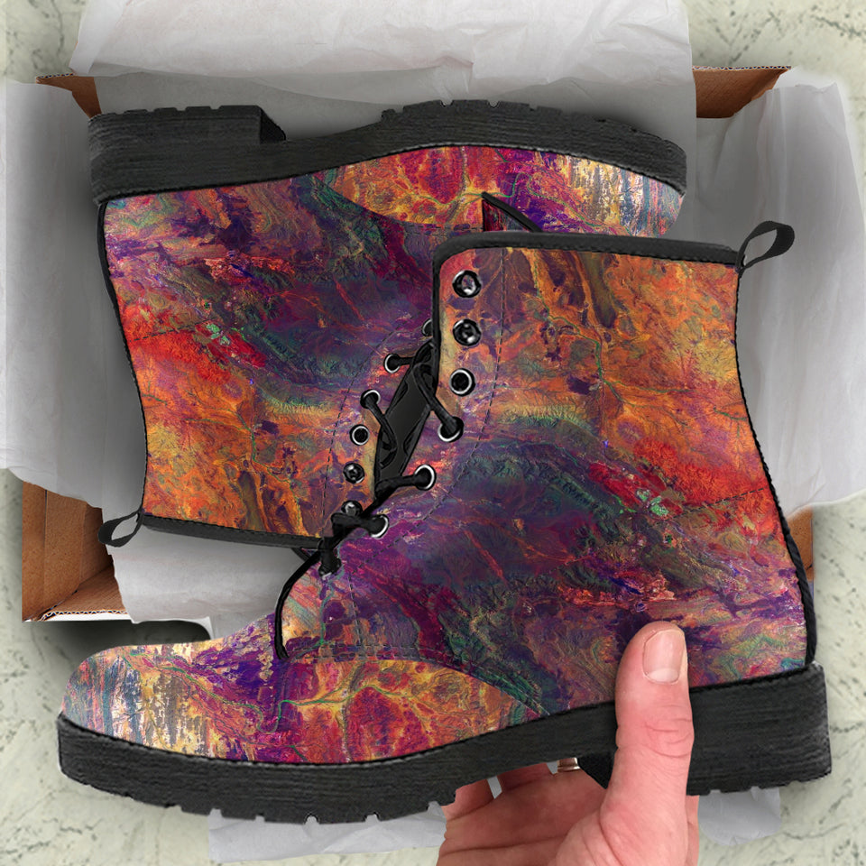 Abstract Art V1 Boots
