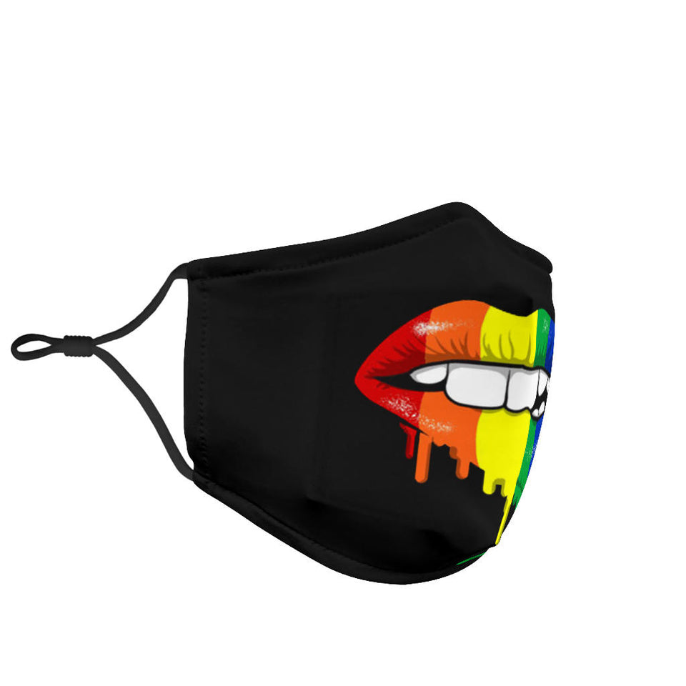 LGBT Mouth Face Mask