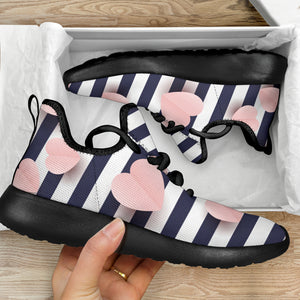 Hearts N Stripes Sneakers