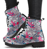 Funky Abstract Boots