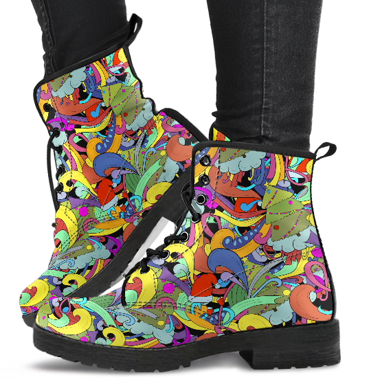 Funky Doodle Boots