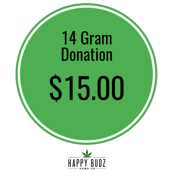 14 gram 1/2oz CBD Hemp Flower Donation