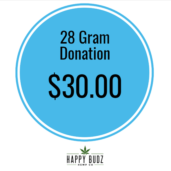 28 gram 1oz CBD Hemp Flower Donation
