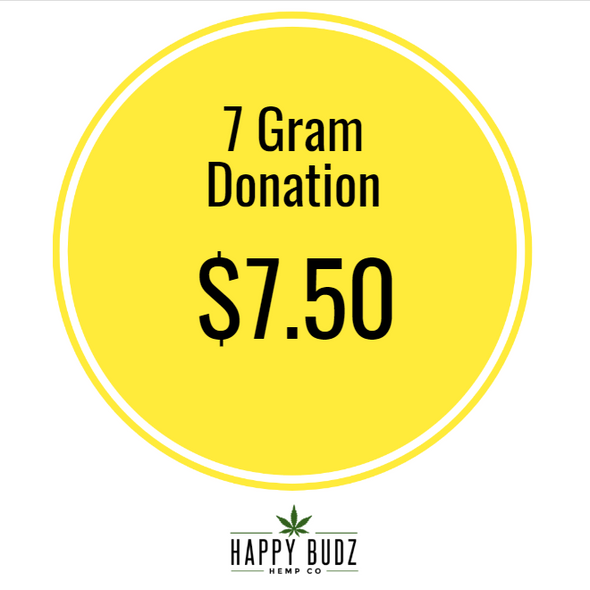 7 gram 1/4oz CBD Hemp Flower Donation