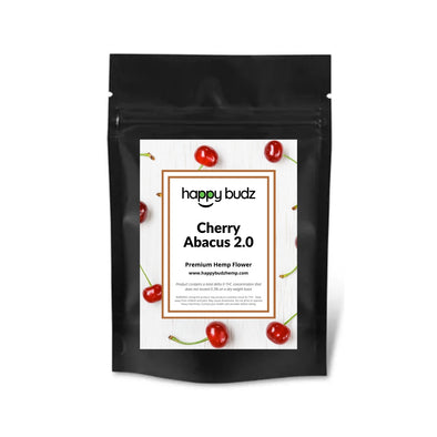 Cherry Abacus 2.0 hemp cbd flower packaging