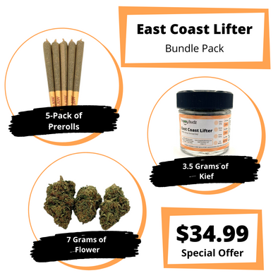 East Coast Lifter CBD Bundle Pack