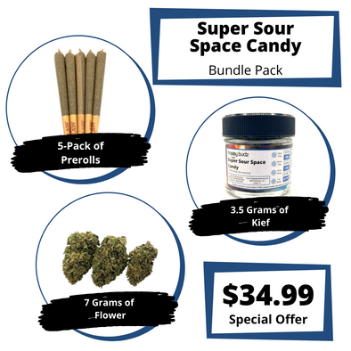 Super Sour Space Candy Bundle