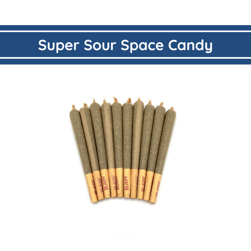 Super Sour Space Candy Hemp