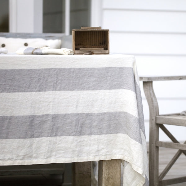 Belgian Linen Tablecloth - Long Island