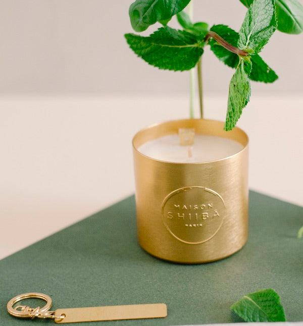 Scented Candle with a Secret Message-Maison Shiiba