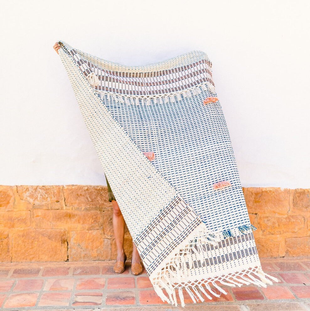 Organic Cotton Blanket - Charalá