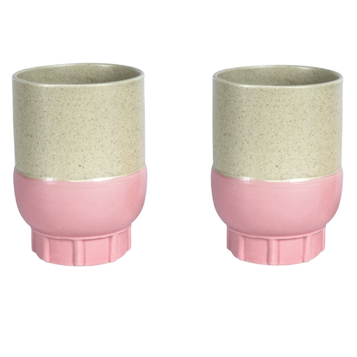 Duo Color Porcelain Cups