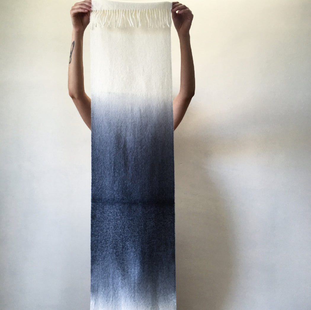 Alpaca Hand-Dyed Ombre Scarf | Ecoist