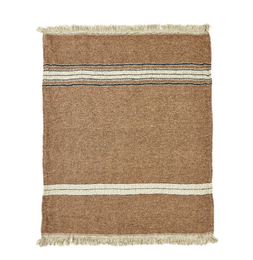 Belgian Linen Throw & Towel - Bruges Stripe