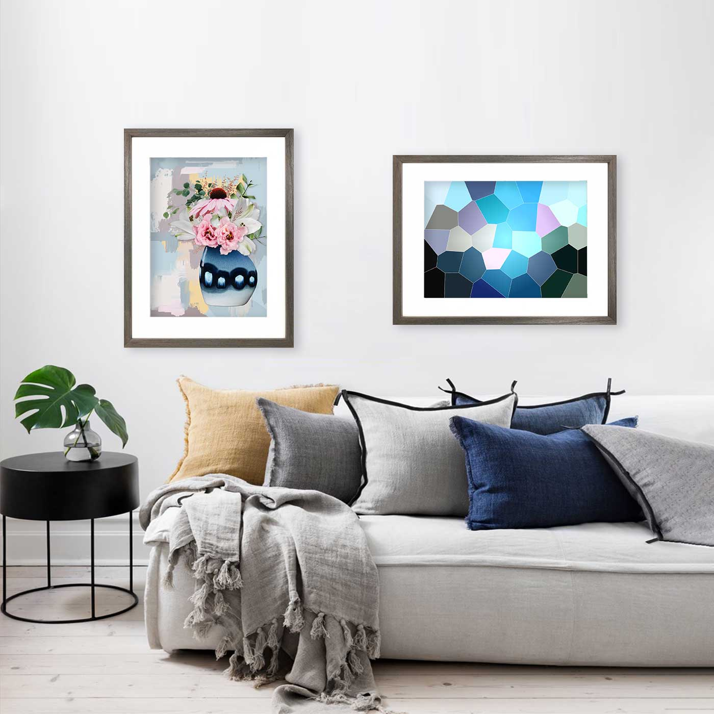 Blue art prints & posters