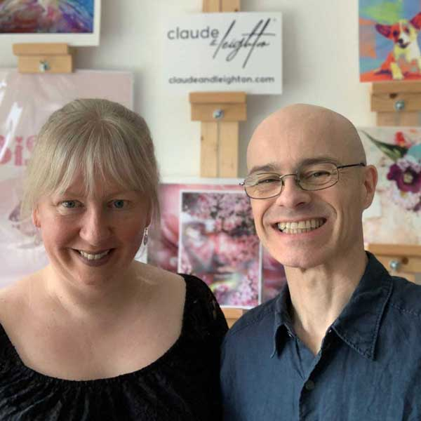 Claude & Leighton Launch - Co-Founders Jayne Leighton Herd & Laurent Stadelmann