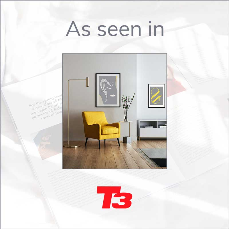 Claude & Leighton art prints featured in T3 Magazine February 2021 issue