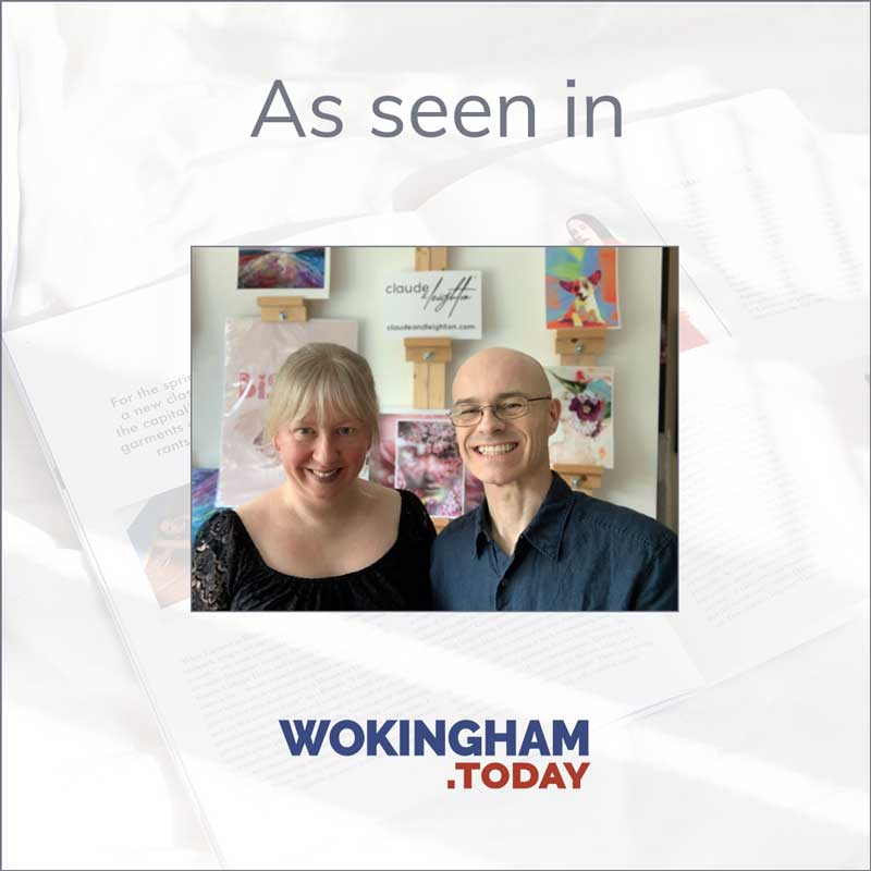 Claude & Leighton launch featured in Wokingham.Today