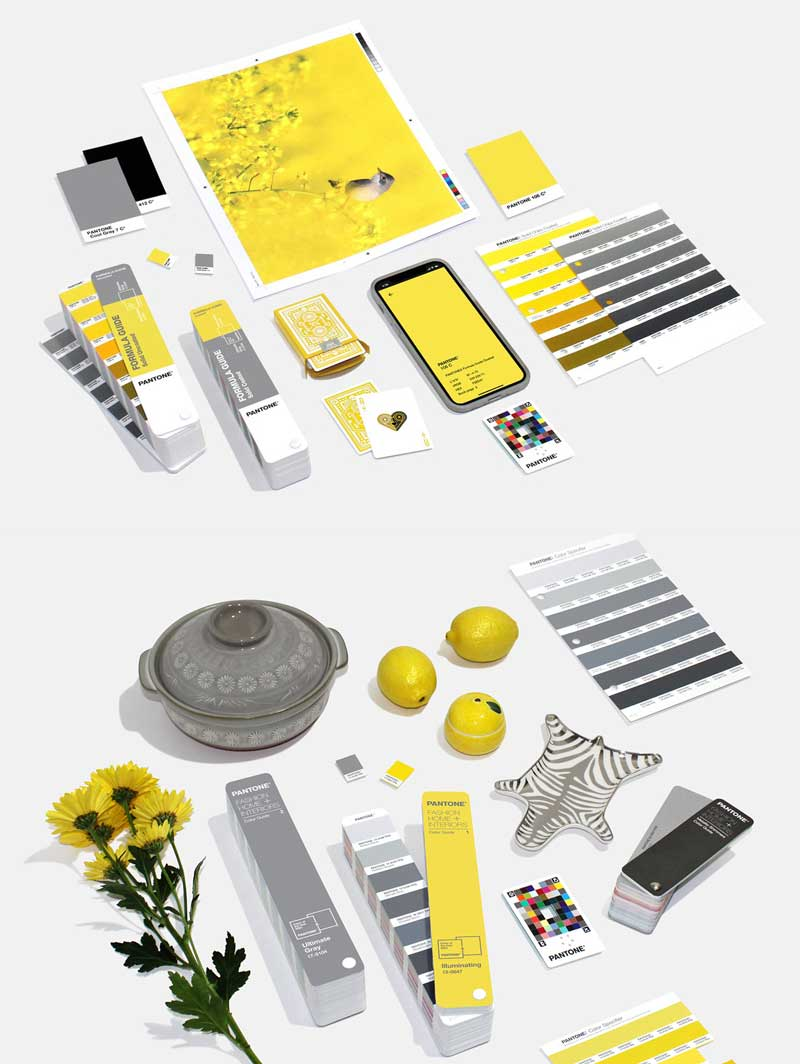 What is the Pantone colour of the year 2021