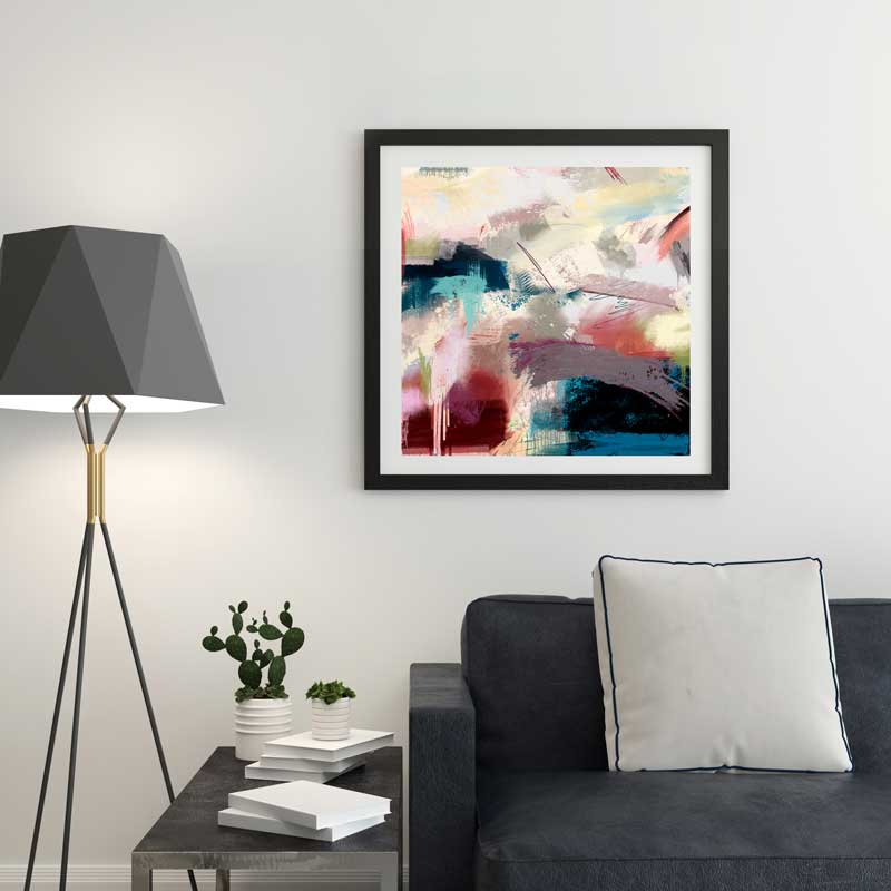 Time to Breathe abstract wall art print by Claude & Leighton