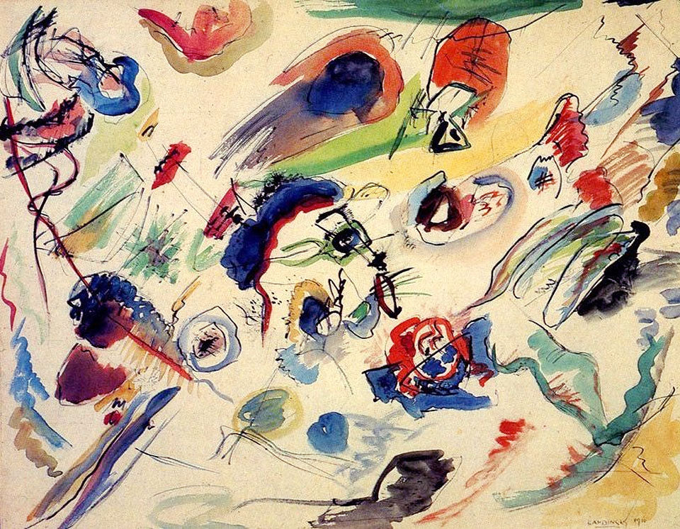 Kandinsky painting - Why abstract art is important - Claude & Leighton Blog