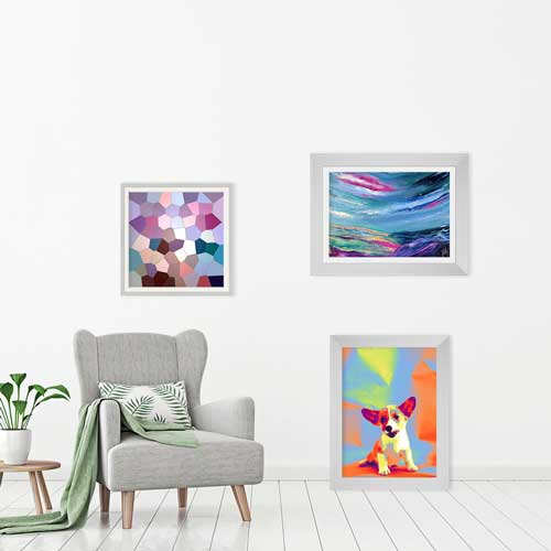 Buy multicoloured wall art prints & posters online at Claude & Leighton