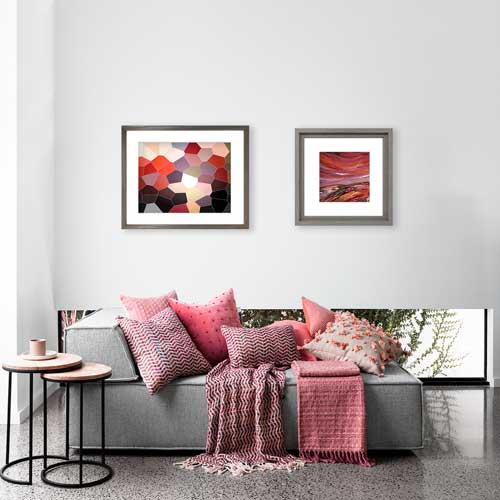 Buy red wall art, prints & posters online at Claude & Leighton