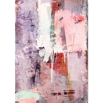 Purple & Pink Abstract wall art print by Claude & Leighton