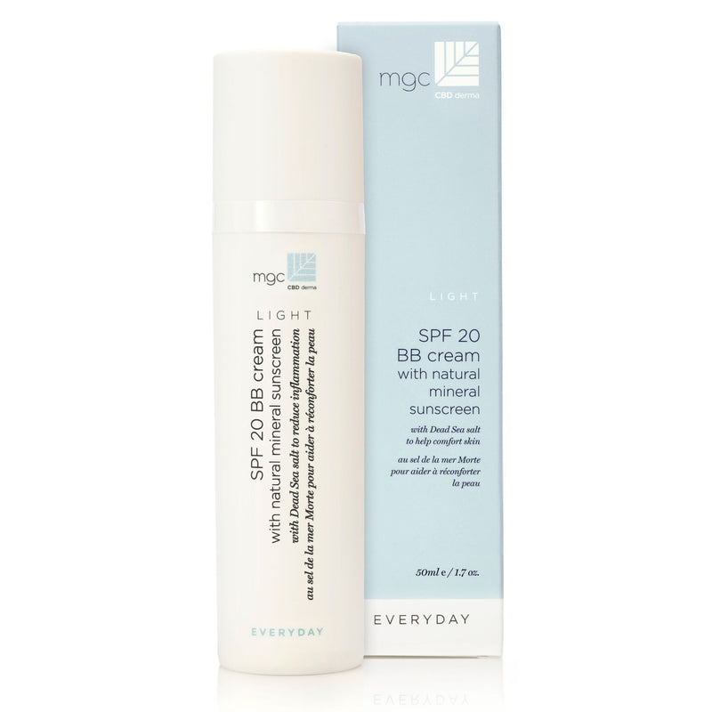 SPF 20 BB Cream with Natural Mineral Sunscreen - Light