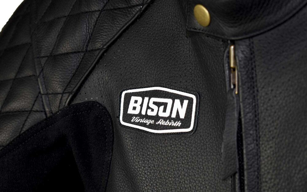Bison Track Custom Vintage Rebirth Motorcycle Racing Suit