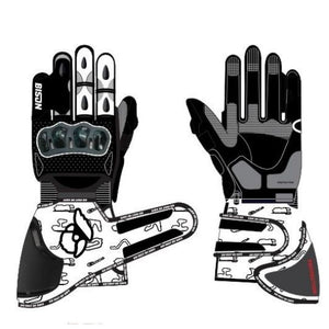 Open image in slideshow, Bison Track Thor.1 Motorcycle Racing Gloves, Roots Edition