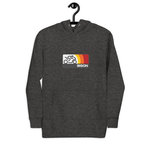 Open image in slideshow, Bison Track Sonic Pullover Hoodie (Heavyweight)