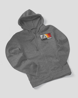 Bison Track Sonic Full-Zip Hoodie (Heavyweight)