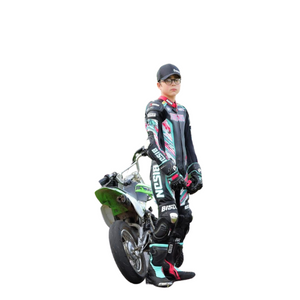 Open image in slideshow, Bison Track Thor.1 Youth Custom Motorcycle Racing Suit