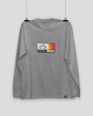 Bison Track Sonic Long Sleeve Tee