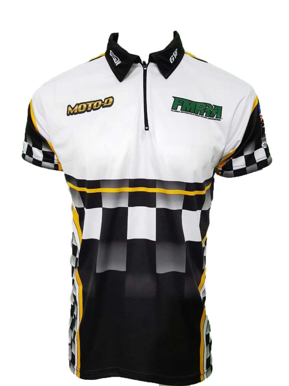 Bison Track Motorcycle Racing Sublimated Pit Shirts