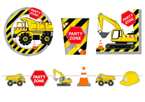 Construction party supplies - The Party Room
