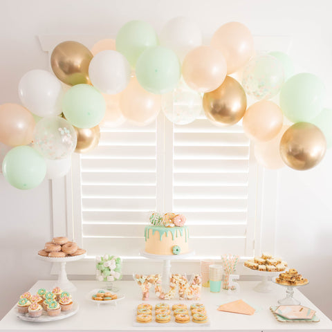 Doughnut theme party table - The Party Room