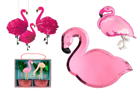 Flamingo party supplies - The Party Room