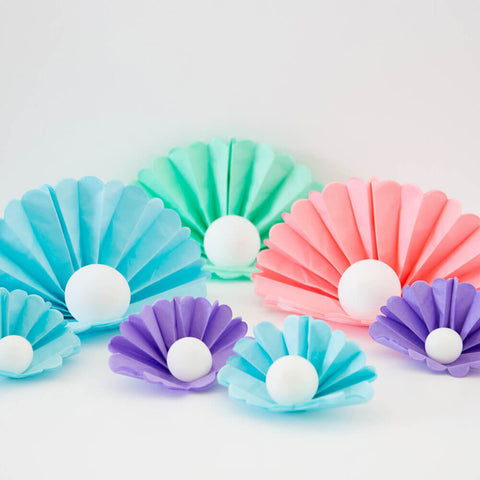 Mermaid clam shells decoration