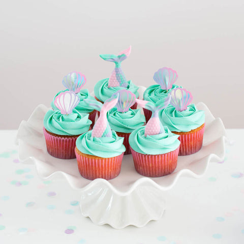 Mermaid Cupcake Decorations