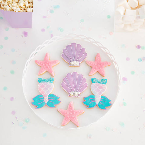 Mermaid Party Cookies